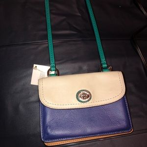 Coach Colorblock Dylan wallet purse